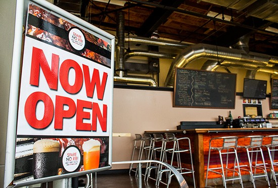 Now open.