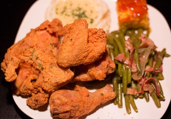 """Miss Leon's Fried Chicken."" 