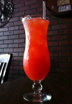 Flavor-filled rum punch from De Palm Tree. - LIZ MILLER