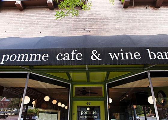 Pomme Cafe. | Laura Ann Miller