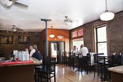 Inside Market Grill in Soulard - LAURA ANN MILLER