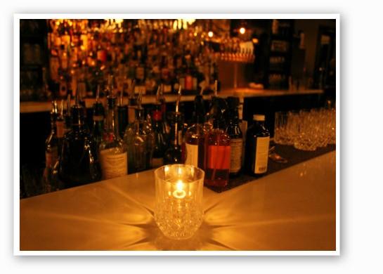 The chic bar.   Zach Garrison