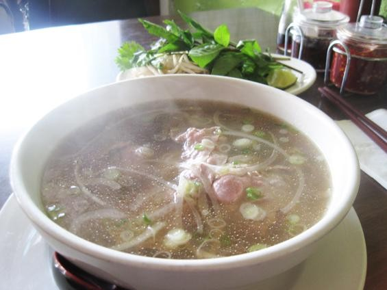 A bowl of pho at Pho Long - IAN FROEB