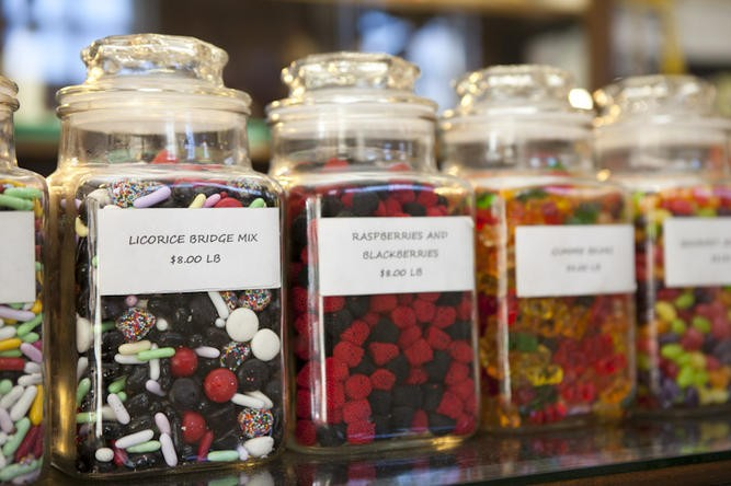 Treats at Crown Candy Kitchen - LAURA MILLER