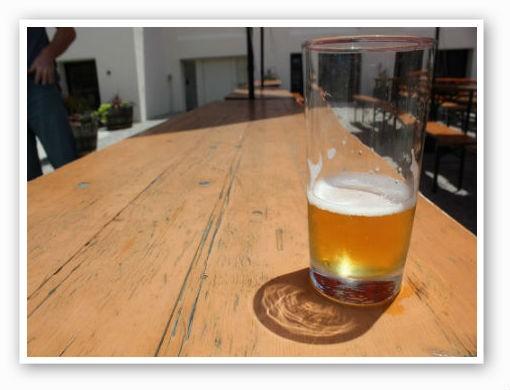 Enjoying Urban Chestnut's beer garden | Pat Kohm