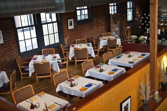 The dining room at Eleven Eleven Mississippi   Laura Miller