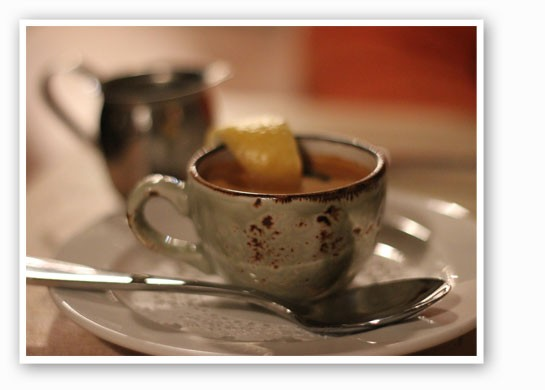 A little after-dinner espresso. | Nancy Stiles
