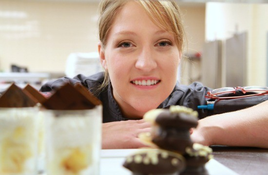 Mary Boehne, author and pastry sous chef at the Four Seasons. | Noah Besheer