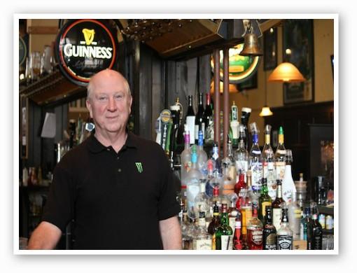 Bob Dolan, bartender at the Dubliner | Kaitlin Steinberg