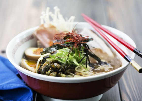 Ramen at Death in the Afternoon. | Jennifer Silverberg