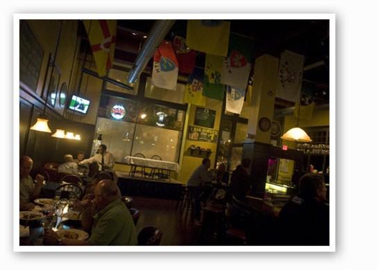 The scene at The Dubliner.   RFT Photo