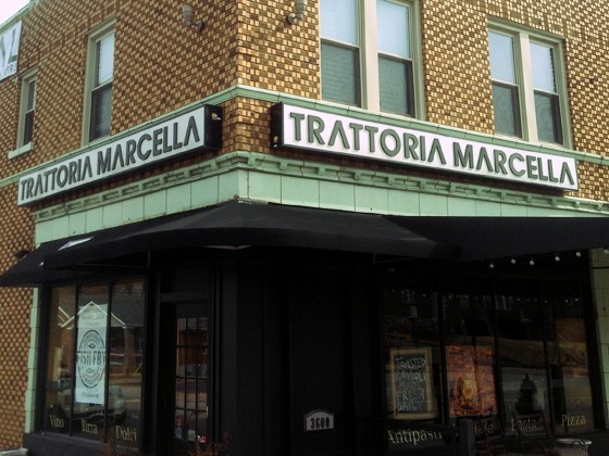 Trattoria Marcella in south city. | Patrick Hurley