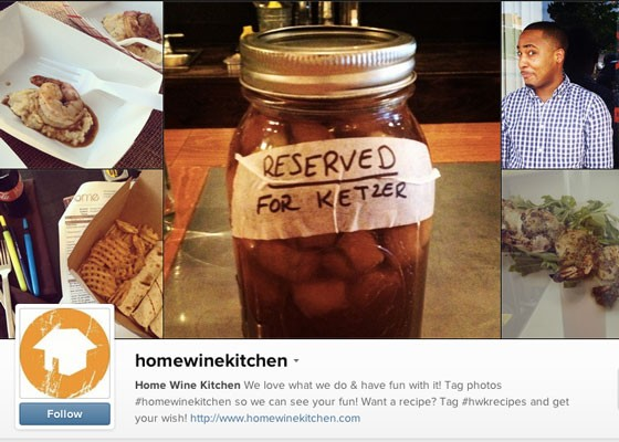Home Wine Kitchen's account. | Instagram