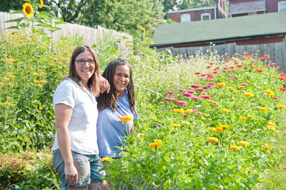 "MIRANDA DUSCHACK AND KAREN ""MIMO"" DAVIS OF URBAN BUDS: CITY GROWN FLOWERS 