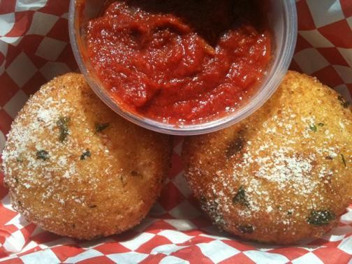 Only one Mangia has arancini. - ROBIN WHEELER