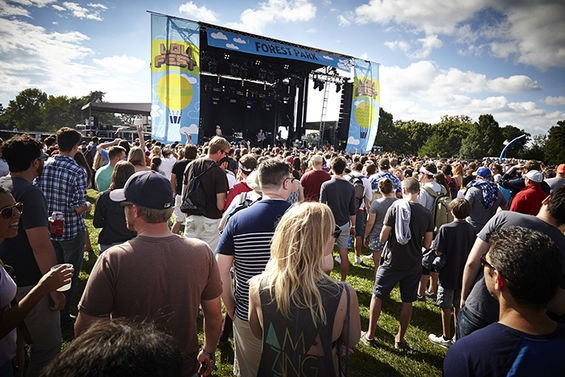Sunny skies and perfect weather greets LouFest attendees this year. - STEVE TRUESDELL