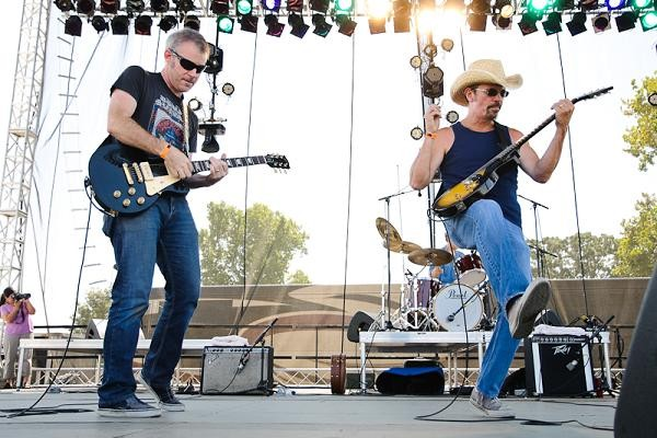 Bottle Rockets kick out the jams. Check out our entire slideshow of LouFest Day One. - JASON STOFF