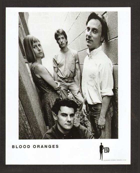 The Blood Oranges.