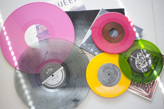 A sample of the beautiful vinyl Boxing Clever has already released. - KELLY GLUECK