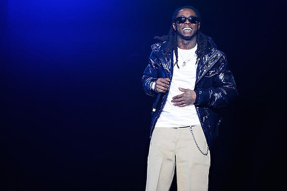 Lil Wayne at the Chaifetz Arena in 2009 - TODD OWYOUNG