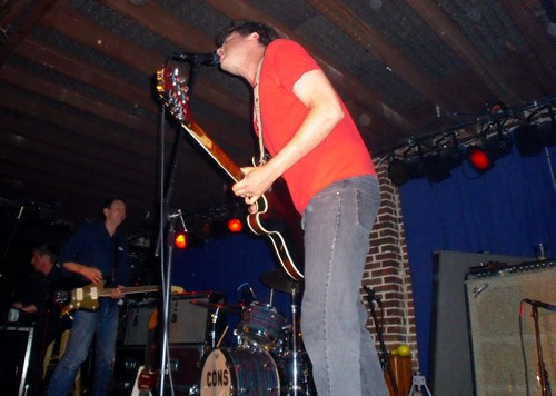 Bryan Webb of the Constantines