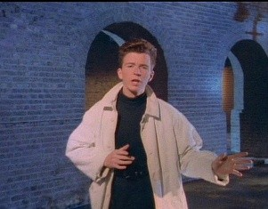 Just when you thought it was safe to listen to Rick Astley in a non-ironic way, the British singer comes rolling back with a downloadable song in Rock Band 3.
