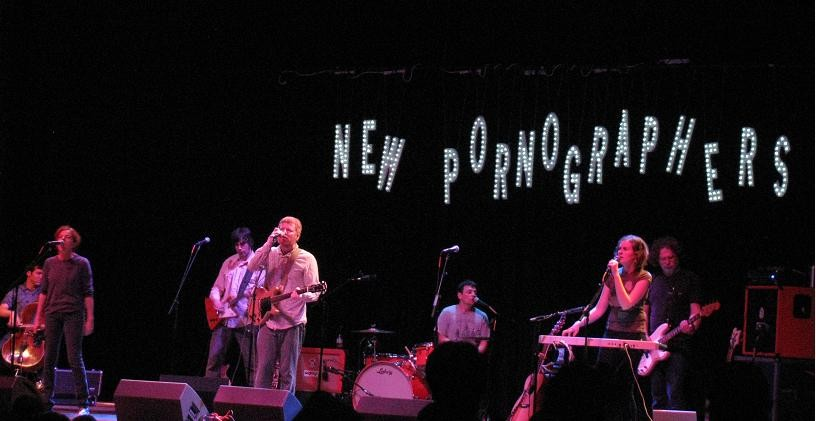 New Pornographers last night at the Pageant - ANNIE ZALESKI