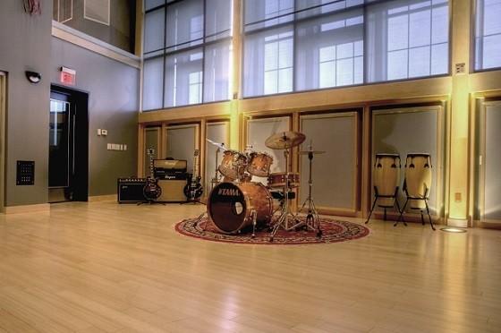 Shock City's expansive live room. - BLAIR STILES