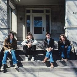 Big Star; Andy Hummel is on the far left, Alex Chilton is on the far right - JOHN FRY/GOMEMPHIS.COM