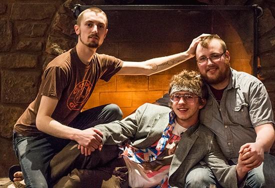 Stonechat is Sean Ballard, John Beabout and Charlie Nehr. - MABEL SUEN