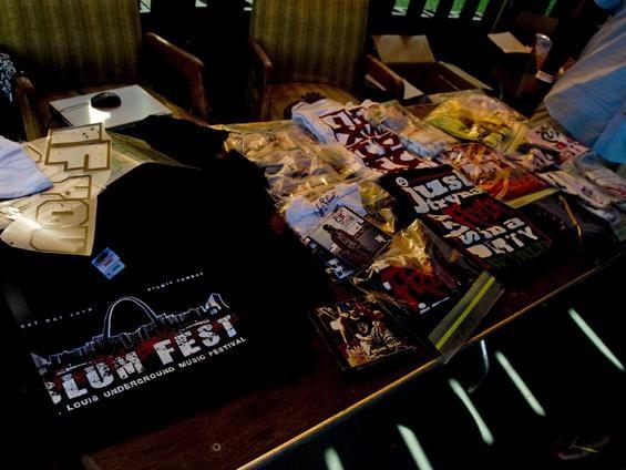 S.L.U.M. Fest merchandise - JON GITCHOFF
