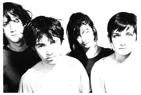 Press photo roughly as old as the band's last release.