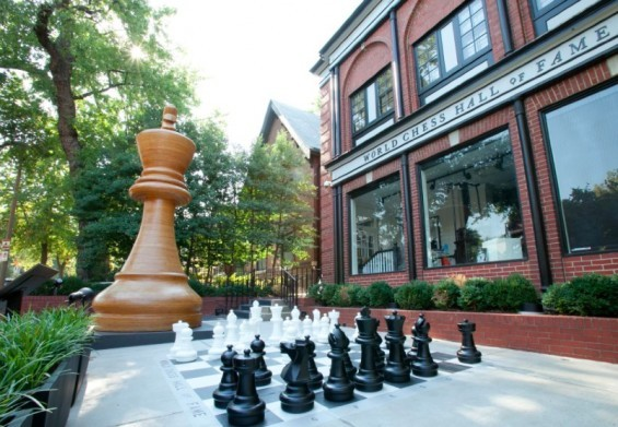 World Chess Hall of Fame - VIA FACEBOOK