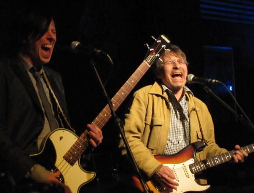 Ken Stringfellow and Chris Stamey at Alex Chilton tribute at SXSW 2010 - DANA PLONKA