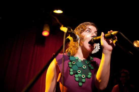 tUnE-yArDs at Off Broadway in 2011. - JASON STOFF