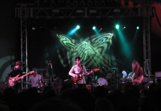 Delta Spirit at Stubb's at SXSW 2012 - DANA PLONKA