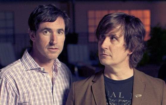 Peter Hughes and John Darnielle, a.k.a. The Mountain Goats - DL ANDERSON VIA MERGE RECORDS