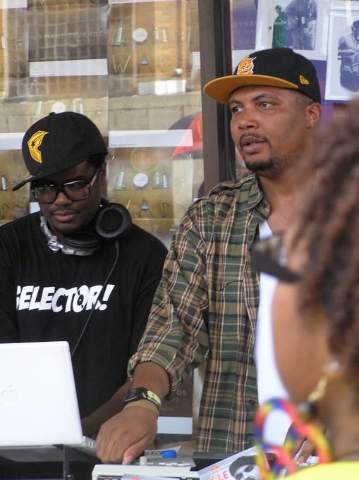 DJ Needles and Black Spade