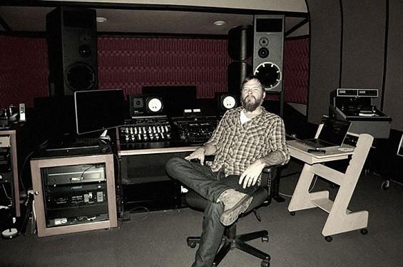 Pete Lyman at Infrasonic Sound in Echo Park. - THEIS DUELUND