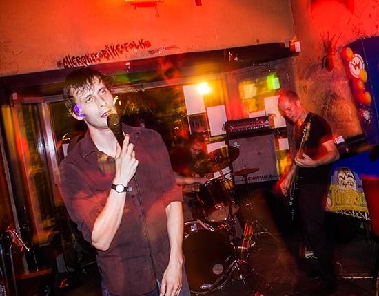 Pillow Talk at CBGB. - MABEL SUEN
