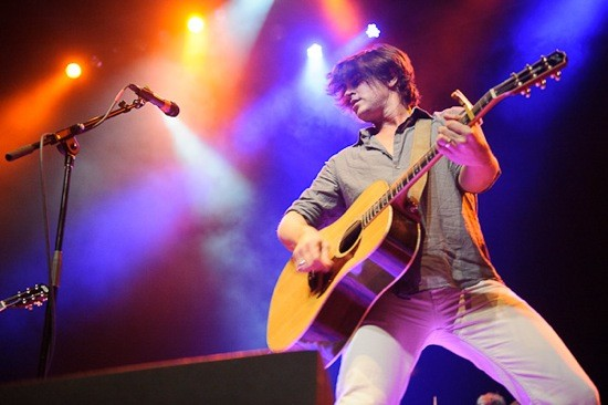 Old 97's at the Pageant earlier this year. - TODD OWYOUNG