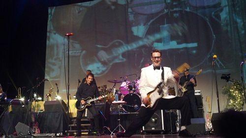 Thomas Hickey performs as Buddy Holly. - ALLISON BABKA