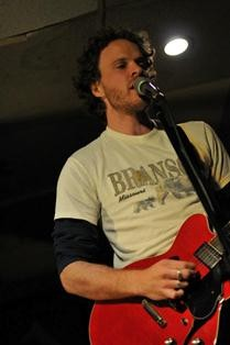 Adam Gillespie -- who played bass with the hard rock group Sullen back in the early 2000s -- is the front man for the Black Bears. The group recently played Lemmons and the Way Out Club in January. - PHOTO PROVIDED BY ADAM GILLESPIE
