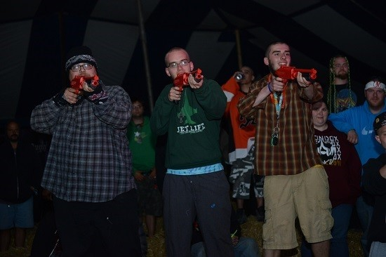 "The juggalo firing squad takes aim down its sights. - NATE ""IGOR"" SMITH"