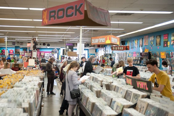 Vintage Vinyl on Record Store Day 2014 - JON GITCHOFF