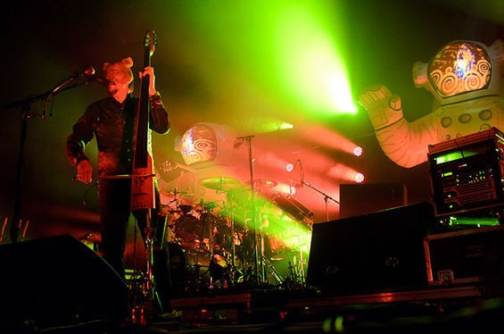 Primus plays the Peabody Opera House on Wednesday. - TODD OWYOUNG