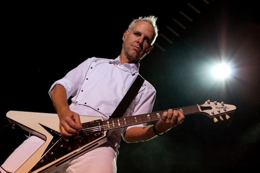 No Doubt guitarist Tom Dumont. Slideshow here. - KENNY WILLIAMSON