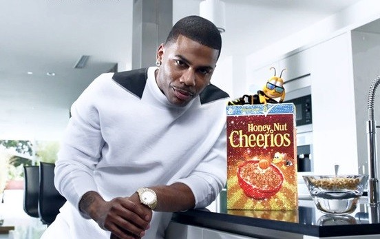 Then Nelly keeps it real by enjoying a heart-healthy breakfast with his bee pal. - PRESS PHOTO