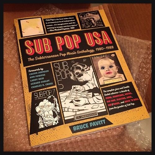 Bruce Pavitt's new book, SUB POP USA: The Subterranean Pop Music Anthology, 1980-1988 - JAIME LEES