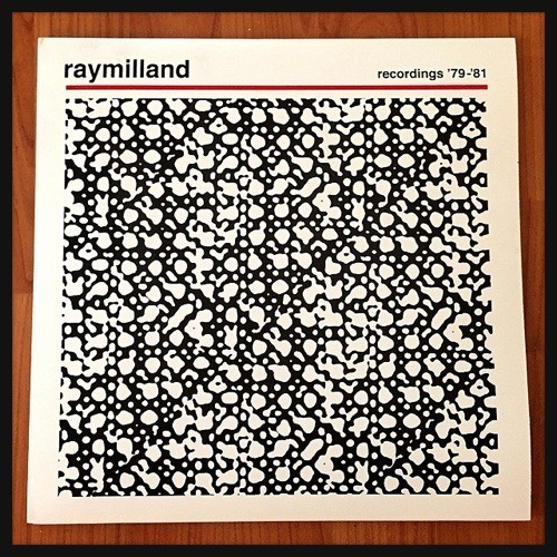 The Raymilland record from BDR Records, St. Louis - JAIME LEES
